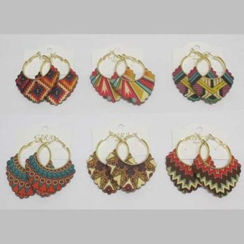 wooden earring jewelry at low price