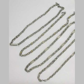 jewelry necklace steel pack