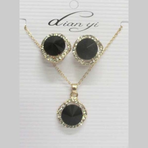 black crystal jewelry at low price