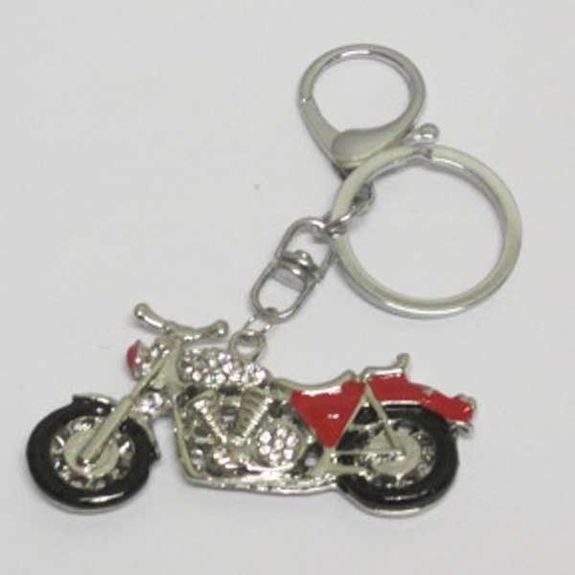 motorcycle biker keychain jewelry