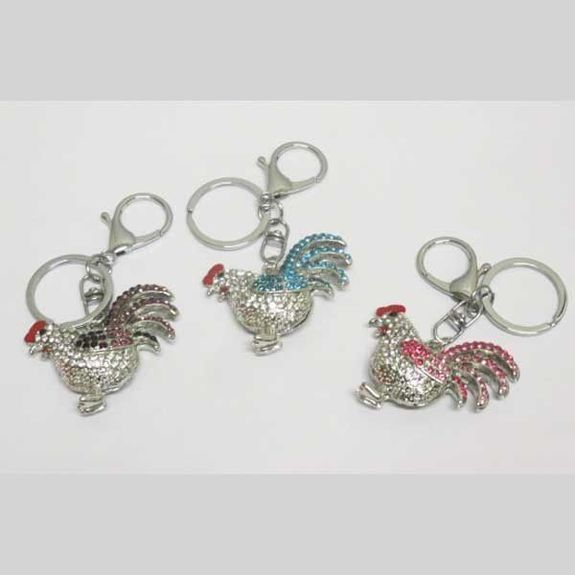 rooster keychain jewelry