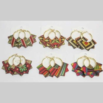 1st price wooden earring