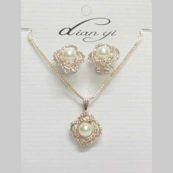 pearl flower jewelry