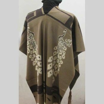 poncho with fringes