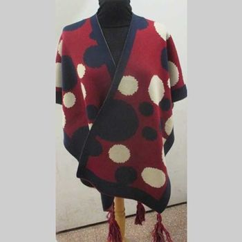 cape poncho femme