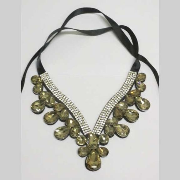 collier col femme