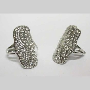 bague strass ailes