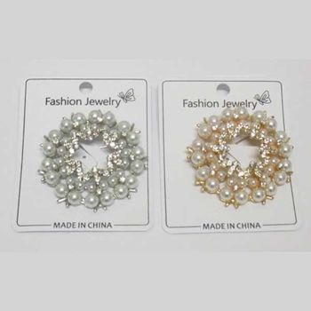 bijoux broche pin's perle pack