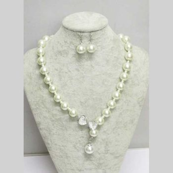 jewelry big pearl in necklace woman jewelry knot