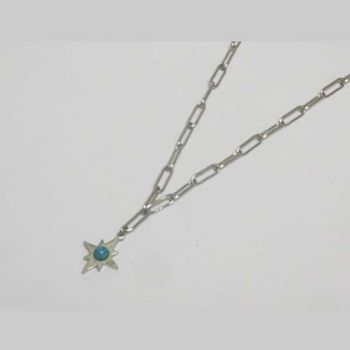 north star star pendant stainless steel