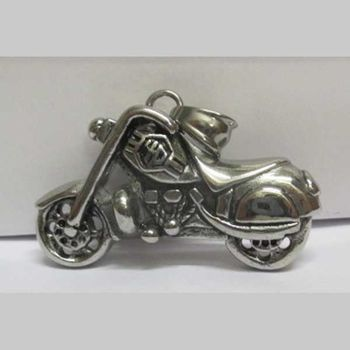 motorcycle steel pendant