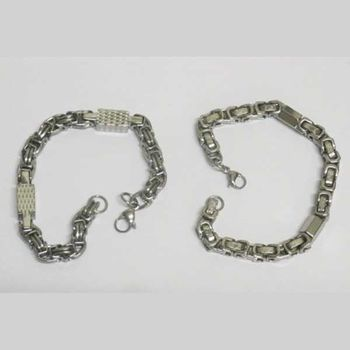 Men's bracelet jewelry in a lot