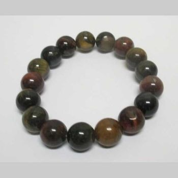 3 eye virtues stone bracelet