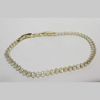 gold zircon woman bracelet jewelry