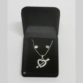 fancy arrow heart pendant jewelry