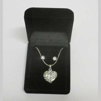 oval heart pendant jewelry