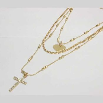 golden rosary jewelry modern version