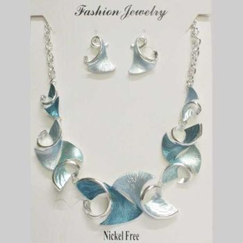 curved shape email jewelry