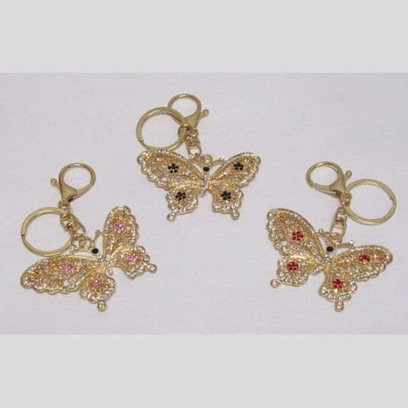 butterfly bag jewelry in various colors