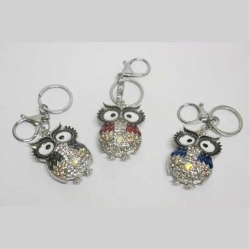 owl bag jewelry in assorted colors