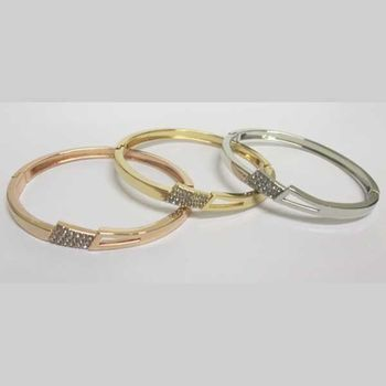 thin crystal bangle available in 3 colors