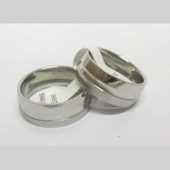 stainless steel ring edge
