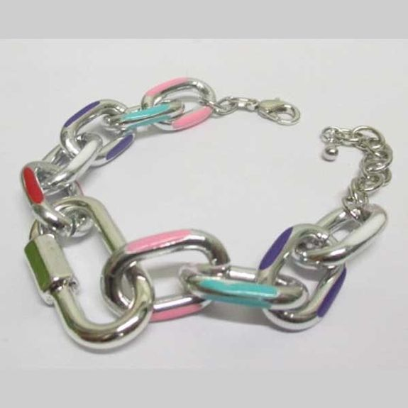 colorful carabiner bracelet jewelry