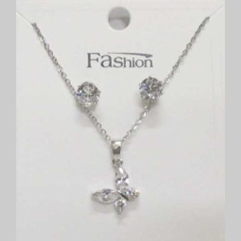 crystal butterfly necklace jewelry