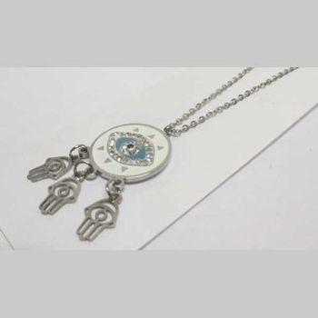 stainless steel amulet jewelry
