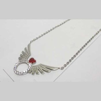 flying ring pendant jewelry