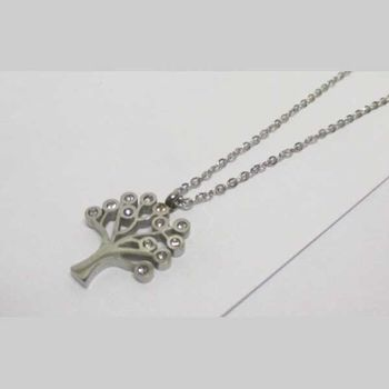 necklace with tree of life pendant