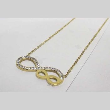 small and large infinity pendant jewelry