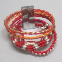 Hipanema bracelet rouge
