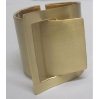 Cuff brushed metal
