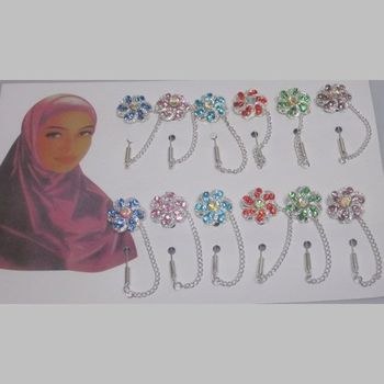 Brooch Pin Hair clip Hijab