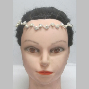 forehead jewelry pearl wedding