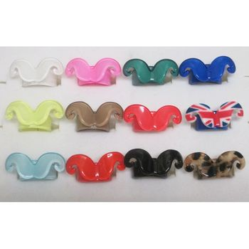 Bague reglable moustache  femme Lot de 12