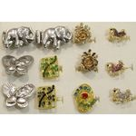 Lot of 12 woman ring
