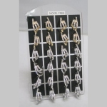 Pack  of 12 Woman's Earrings