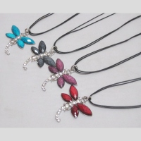 Collier cordon libellule Lot de 12