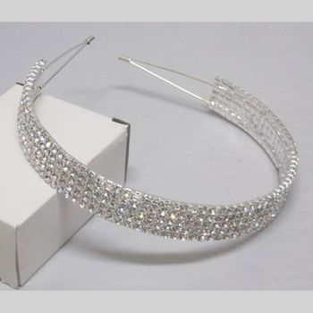 Hair Accessory 5 rows strass