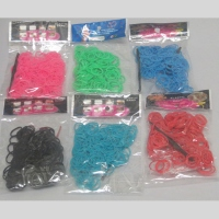 Bands loom lot de 12 paquets coloris unis