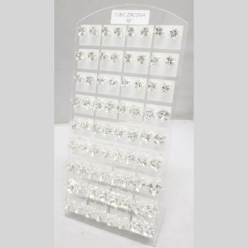 Lot of 36 Woman's Earrings silver