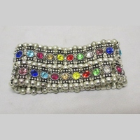 Bracelet multi strass 2 rangs
