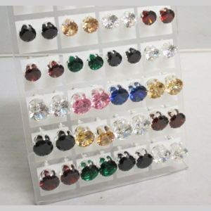 jewelry earrings zirconium oxide