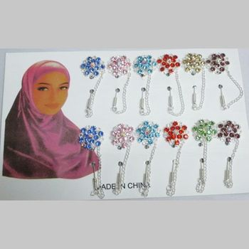 Broche épingle attache Hijab