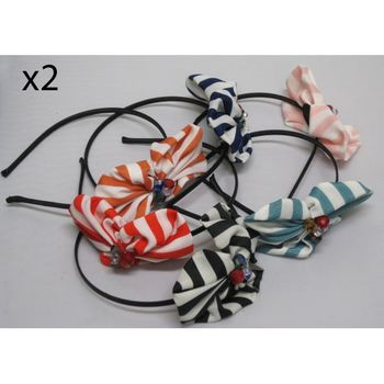 Hair Accessory strass Lot of 12Pcs