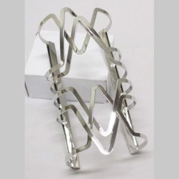 cuff bracelet interlaced