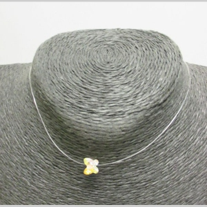 fishing wire necklace