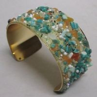 Summer bracelet for sunning your wrist